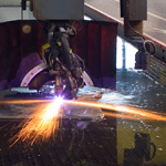 Brown Sprinkler fabrication shop meets demanding schedules